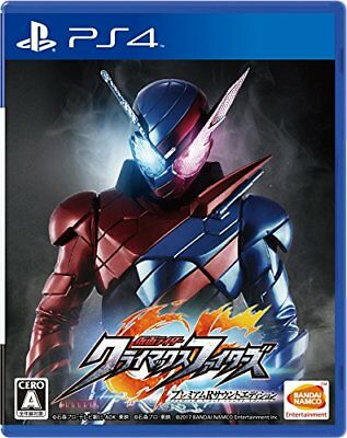 Nuovo PS4 Kamen Rider Climax Fighters Premium R Sound Edition Giappone PLJS-36022