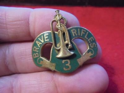 WWII 3rd Armored Cavalry  DUI DI Crest Pin