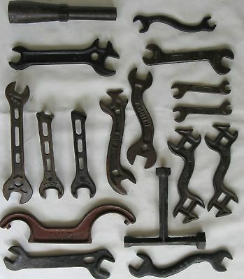 Old Farm Implement Tractor Wrench Ihc International Harvester Large Lot
