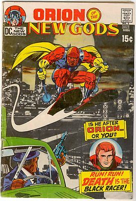 Orion of The New Gods #3 (1971) 1st appearance of the Black Racer by Jack Kirby