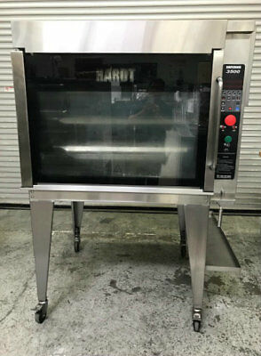Hardt Inferno 3500 Natural Gas Rotisserie Oven Flame & Display #8984 Chicken BBQ