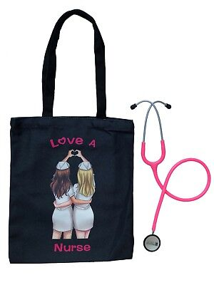 Prestige Medical & Valencia Med Bundle: Clinical Lite Stethoscope with Tote Bag