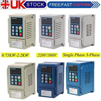 AC 220V/380V Single Phase/ 3-Phase Variable Frequency Speed Drive VFD Converter