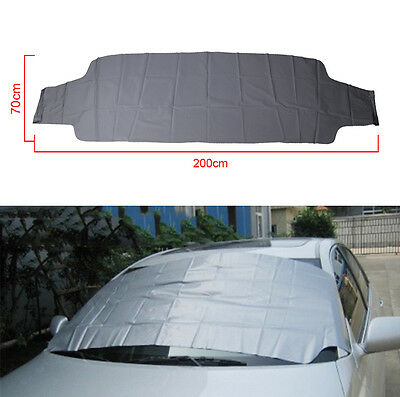 Car Wind Screen Cover Frost Ice Shield Snow Dust Sun Shade Protection