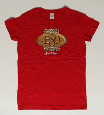 Brian Setzer Orchestra BSO Women's L Red Shirt - Rockabilly pUnK Stray Cats