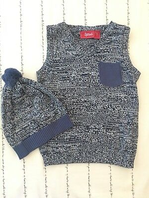 Sprout Baby Vest and Beanie Set NWOT - Size 1