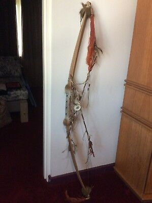 American Indian Bow and Arrows