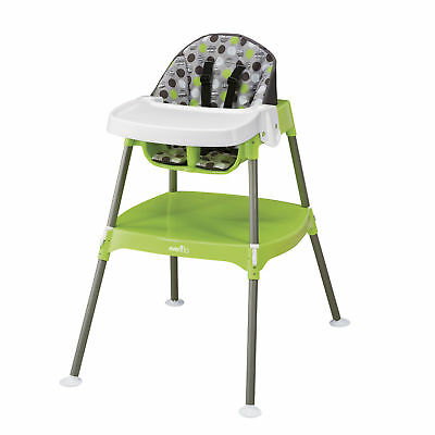 Evenflo New Convertible Baby High Chair 3-In-1 (Multiple Colors)- Free Shipping