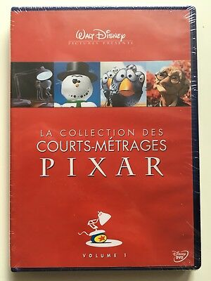 La collection des courts-métrages Pixar vol 1 DVD NEUF SOUS BLISTER Walt Disney