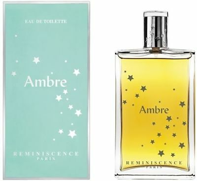 REMINISCENCE AMBRE Eau de TOILETTE 50 ml Spray NUOVO ORIGINALE