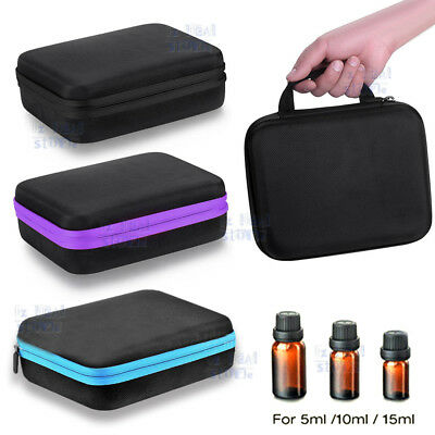 30-60 Bottles Essential Oil Case Travel Carry Storage Aromatherapy Hand Bag OZ