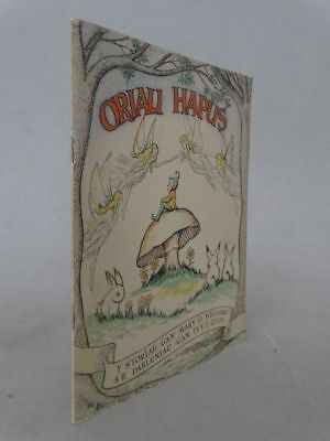 Oriau hapus - Mary Williams - 10 Lithographien Giles walisisch Kinderbuch - 1953