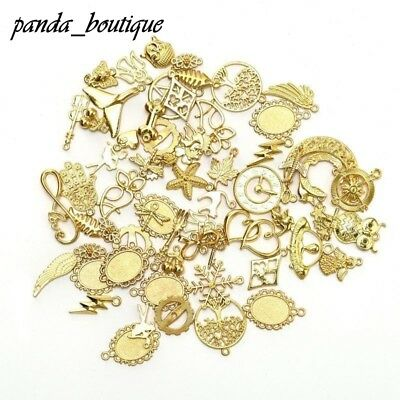 Random Styles Charms Pendants 50g/Pack Jewelry DIY Making Findings Necklace
