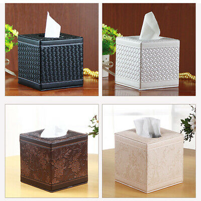 Tissue Box Cover Holder for Bathroom Vanity Counter Tops Bedroom Dressers