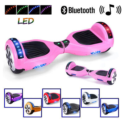 6.5'' Bluetooth Patinete Scooter Eléctrico Self Balancing Monociclo Overboard