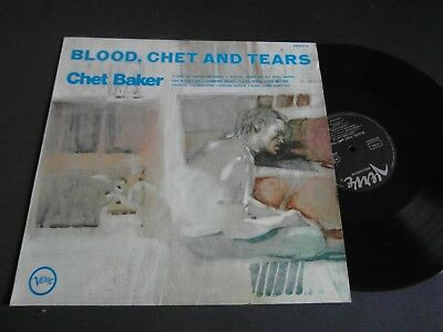 Lp   Chet Baker  -  Blood,chet And Tears  (Orig.1970 German-Press)  Vg ++