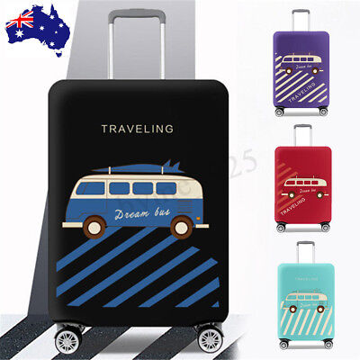 18-32'' Elastic Luggage Suitcase Cover Protective Dustproof Case Anti Scratch AU