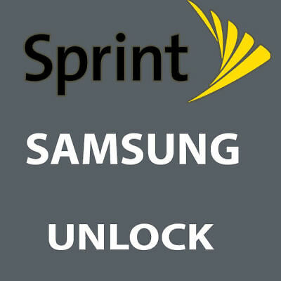 SPRINT REMOTE UNLOCK SERVICE VIA USB SAMSUNG Galaxy SM-N950U Note8