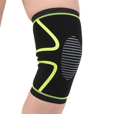 Knee Sleeve Compression Sports Fitness Running For Arthritis Knees Basketball 8C