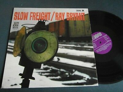 Lp   Ray Bryant  -  Slow Freight  (1967 German-Press)  Vg +