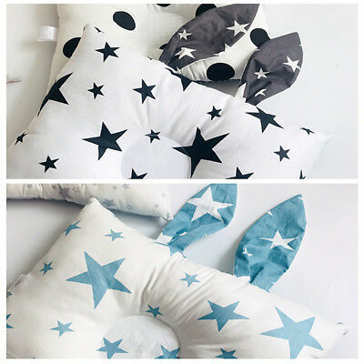 Newborn Baby Kid Safe Cot Pillow Preventing Flat Head Neck Syndrome Sleep Pillow