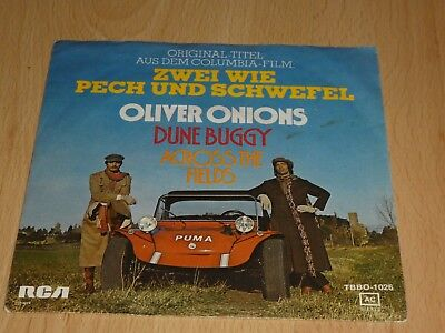 "7"" Single: Oliver Onions – Dune Buggy / Across The Fields"