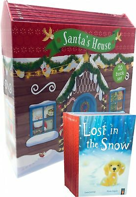 Santas House 20 Books Collection Set Gift Pack One Christmas Night, Snow Angel