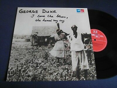 Lp   George Duke - I Love The Blues,she Heard My Cry (Orig.1975 German-Pr.)  Ex