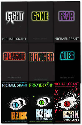 Gone Series Michael Grant Collection 9 Books Set BZRK Fear Hunger Lies Plague