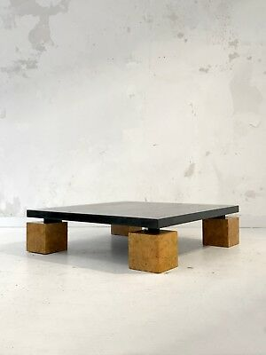 1980 Willy Great Rizzo Coffee Table Modernist Constructivist Memphis Bauhaus