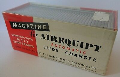 Vintage Magazine for Airequipt Automatic Slide Changer, 34 Slides of Sicily 1964