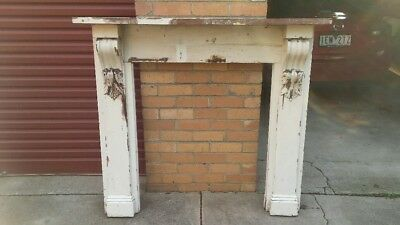 Timber Mantle Piece 1270 mm high x 1430 mm wide.