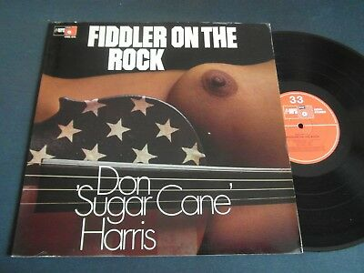 "Lp   Don ""sugar Can"" Harris - Fiddler On The Rock (Orig.1971 German-Press)  Ex"