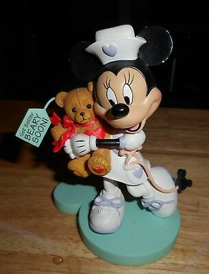 Disney Minnie Mouse Nurse Collection Just What The Doctor Ordered Figure