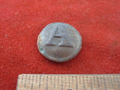 Civil War Confederate Artillery Button Dug Gettysburg