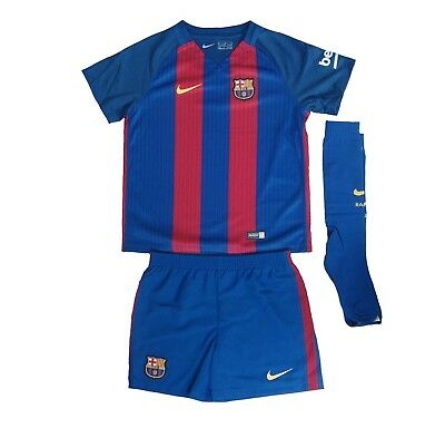 FC Barcelona Kinder Trikot Set Nike Little Boys