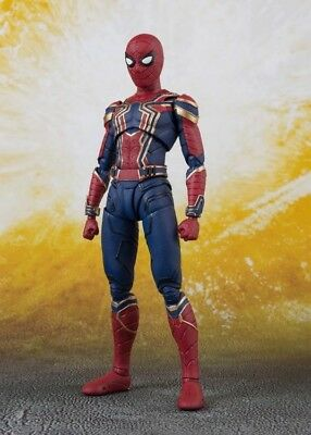 Avengers: Infinity War S.H.Figuarts Iron Spider Man & Tamashii Stage - AU STOCK