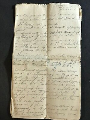 WWI  WW1 - HANDWRITTEN SOLDIERS LETTER - 1918 - part of Lt Benson Collection
