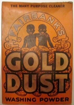 Vintage Box of Lever Brothers - Gold Dust Washing Powder