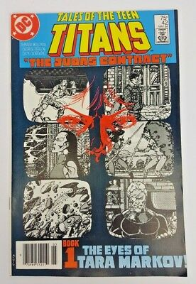 Tales of the Teen Titans #42 (May 1984, DC) Judas Contract Part 1 VF+