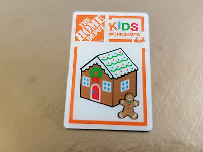 Home Depot Kids Workshop Lapel Pin.