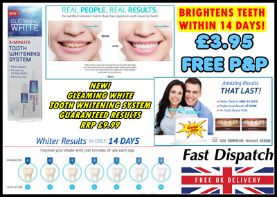 Lornamead Whitening System 3D Pure White Rrp £9.99 Hollywood Smile New In Stock