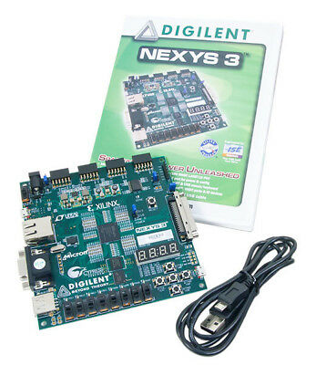 Nexys 3 Spartan-6 FPGA Trainer Board (hardware suitable for digital systems)