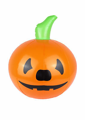 Halloween Inflatable Pumpkin Blow up Toy Spooky Scary Party Decoration Prop 35CM