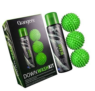 Granger's Down Wash Kit Perfect for Thoroughly Cleaning All Down Items