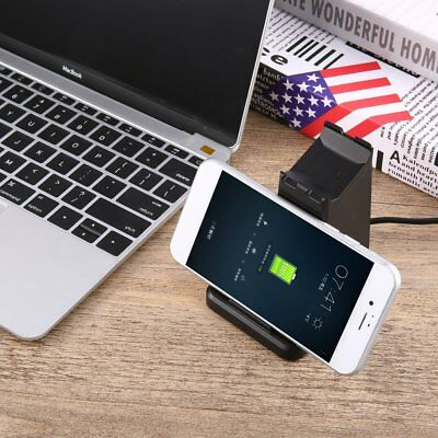 USB2.0 Charging Stand Dock Station Charger for Fitbit Ionic Watch Phone HolderOP