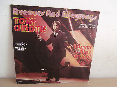7 inch Vinyl         TONY CHRISTIE                  ***AVENUES AND ALLEYWAYS***