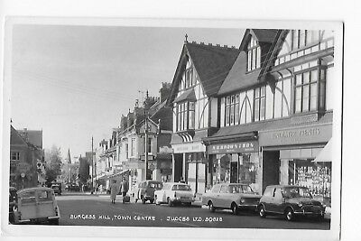 Collectable Postcard of Burgess Hill. Town Centre. Sussex.