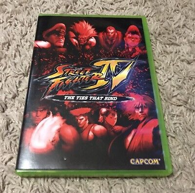 Street Fighter Iv The Ties That Bind Movie Xbox 360 Collector S