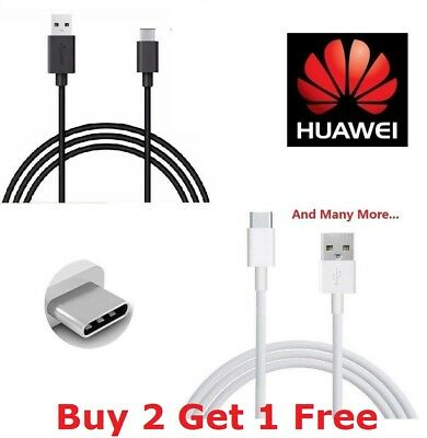 For Huawei P20 Mate 20/ Lite/ Pro/ P10 P9+ Type-C USB Sync Charger Cable Lead